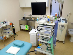 あさい内科医院内視鏡室