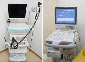 経鼻内視鏡・腹部超音波検査装置(エコー)
