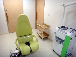 窪田レディースクリニック内診室