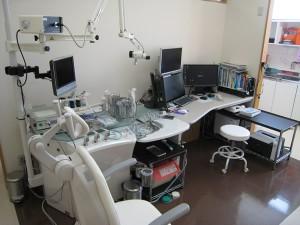桜耳鼻咽喉科診察室