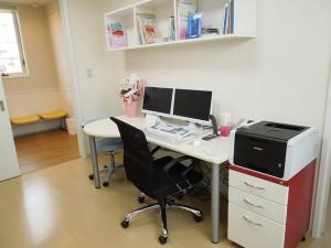 外山内科クリニック診察室