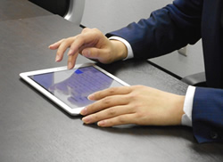ipadを使って事業収支計画書を作成