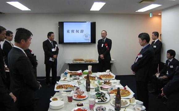 大阪支社スタートアップミーティングの様子