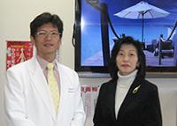 和田先生と事務長の奥様