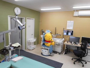 牧の原なのはな耳鼻咽喉科診察室