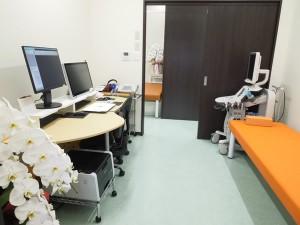 やまぐち内科ハートクリニック 診察室