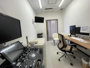 ウィメンズヘルスクリニック刈谷銀座診察室