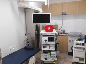 京町堀内科外科クリニック内視鏡室