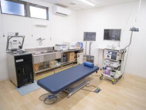 せいの胃腸内科クリニック内視鏡室